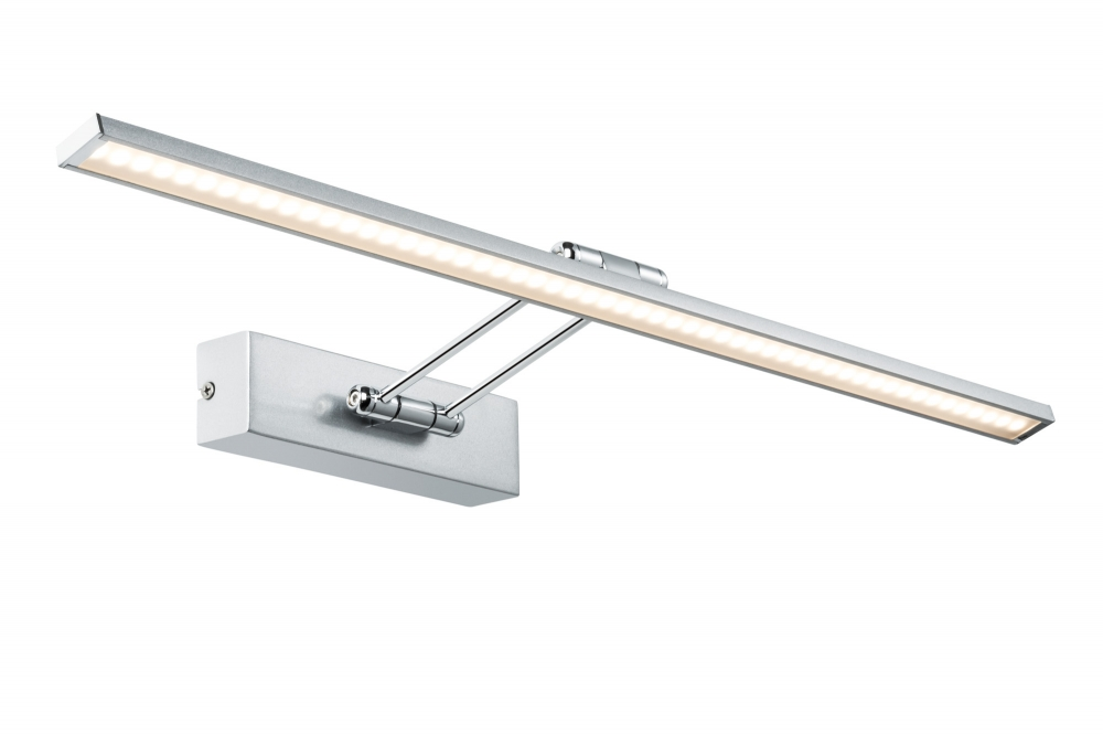 99896 The Galeria LED picture luminaire, Beam Sixty 11 W brushed nickel
